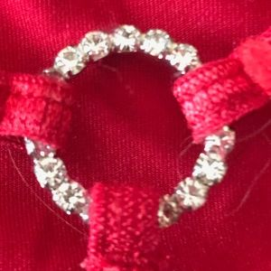 RED, with Rhinestones Victoria's Secret V-String